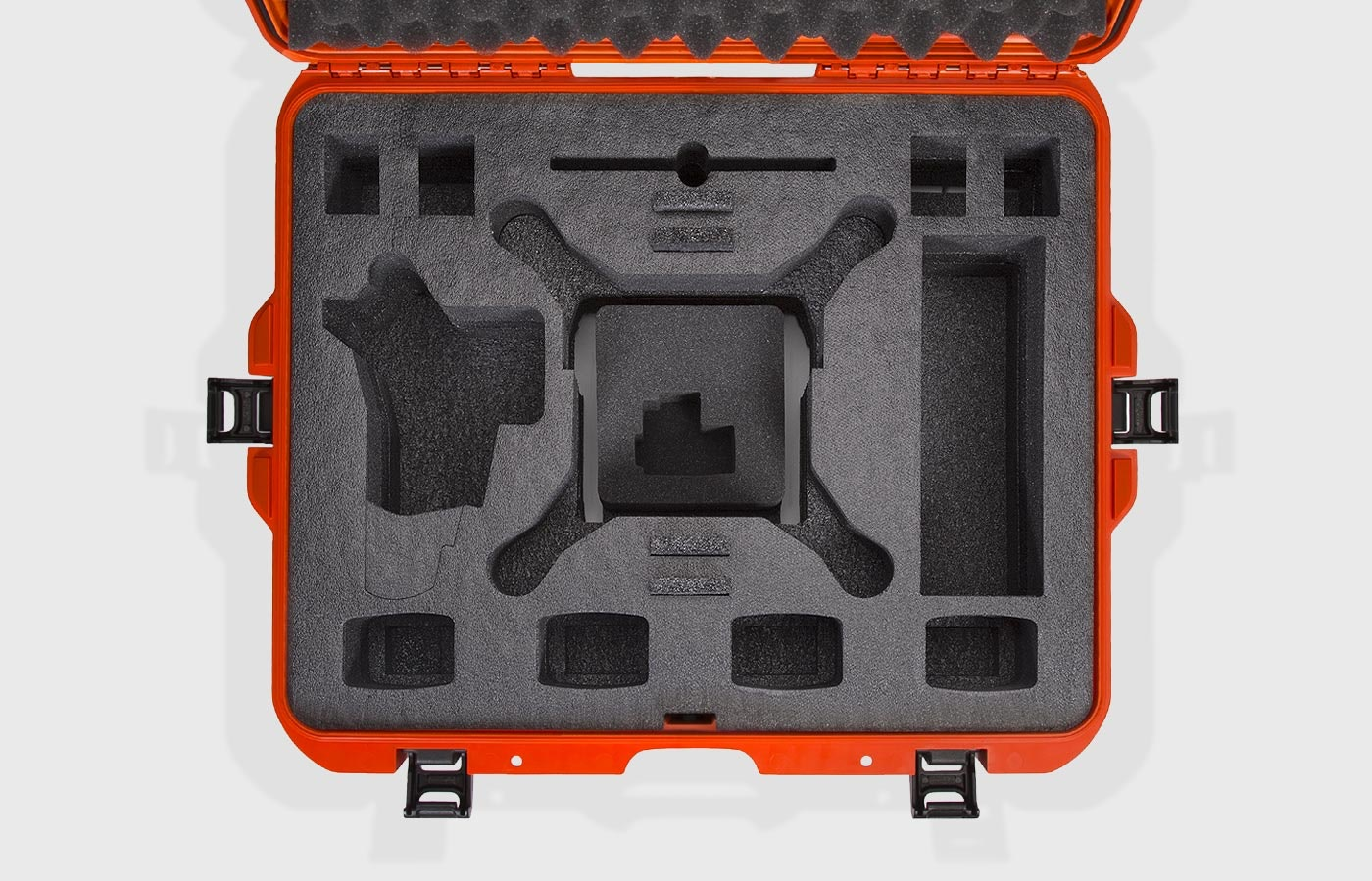 Empty foam case for the DJI Phantom 4