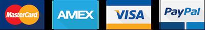 HardCases Accepts Paypal, Visa, MasterCard and Amex