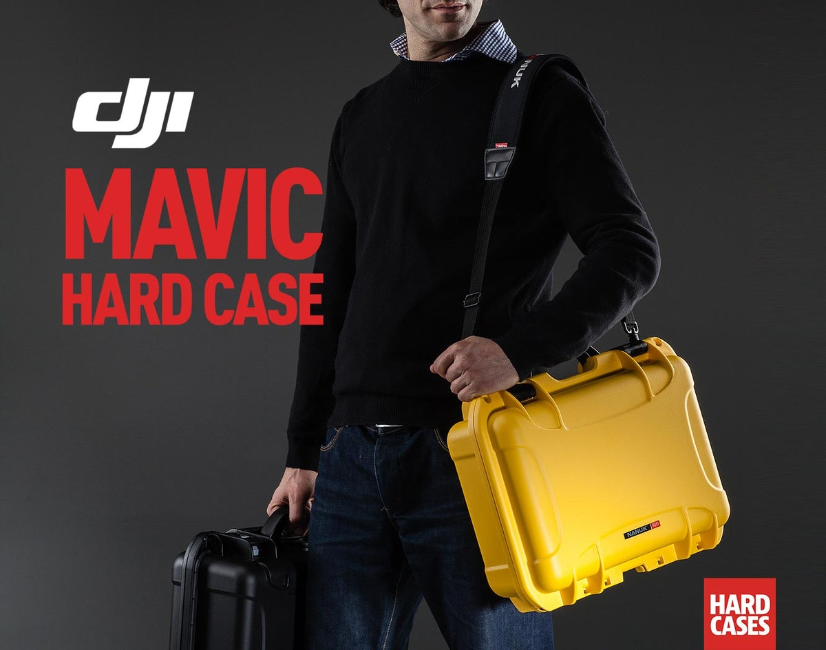 DJI Mavic Hard Case with Shoulder Strap