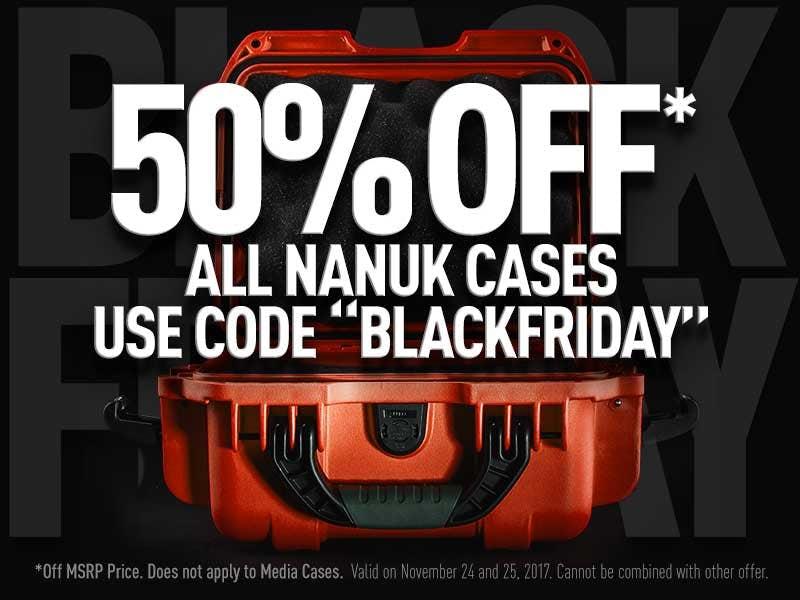 Nanuk Cases Black Friday Deal