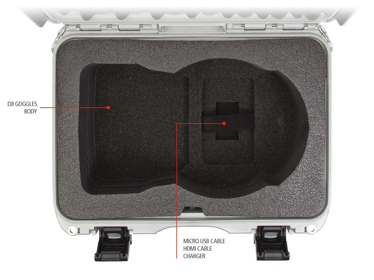 Features of the Nanuk 918 DJI Goggles Foam