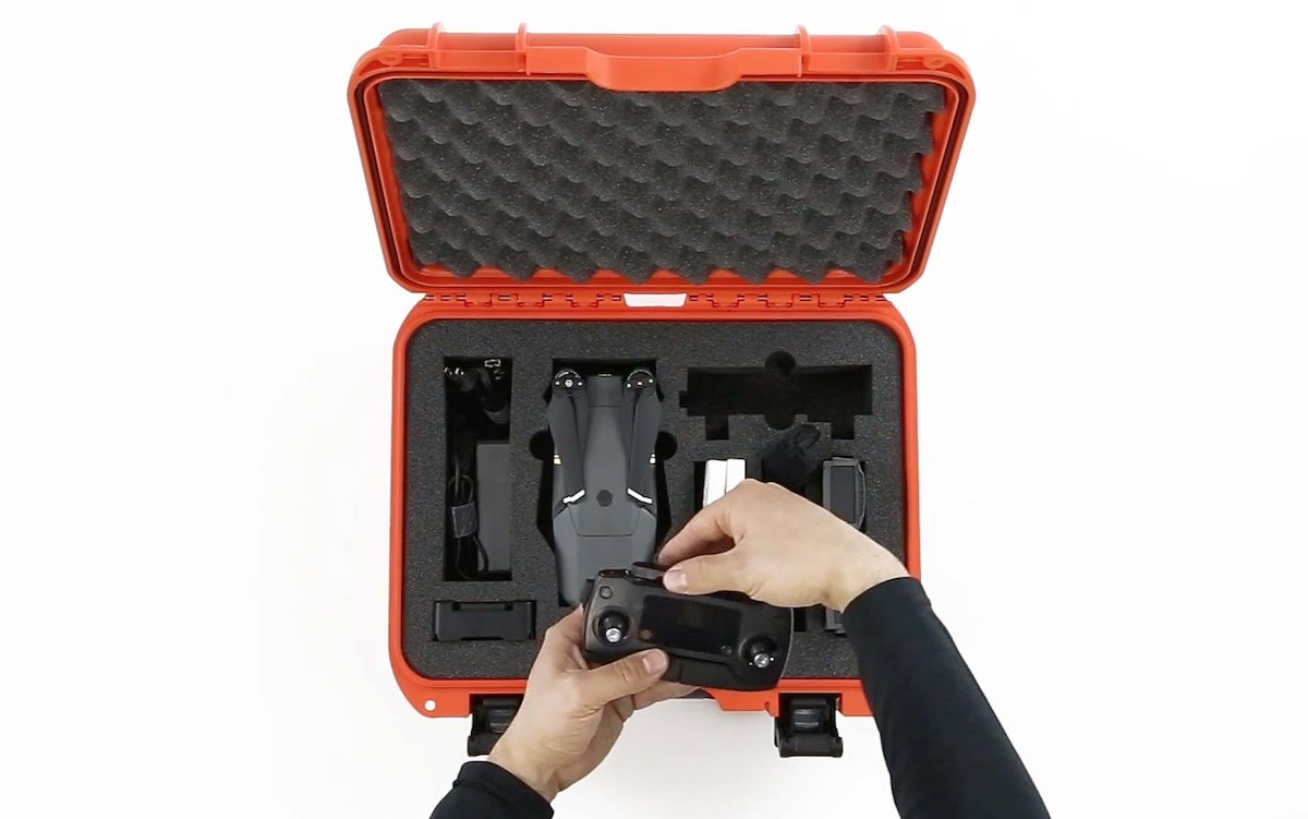 Storing the Mavic Drone in a Nanuk 920 Hard Case