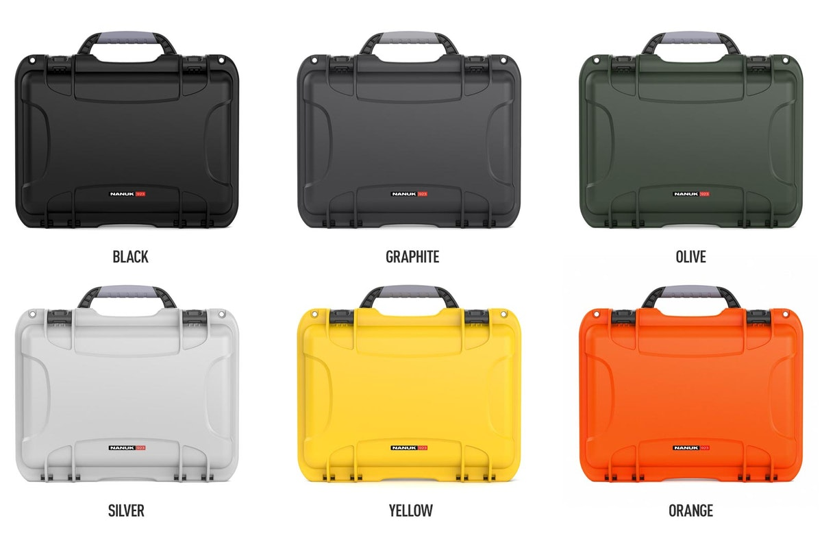 Nanuk 923 is available in 6 colors