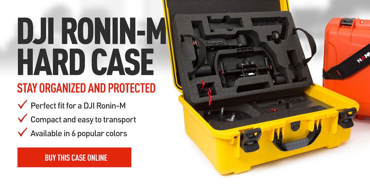 Nanuk 940 Hard Case for the DJI Ronin M