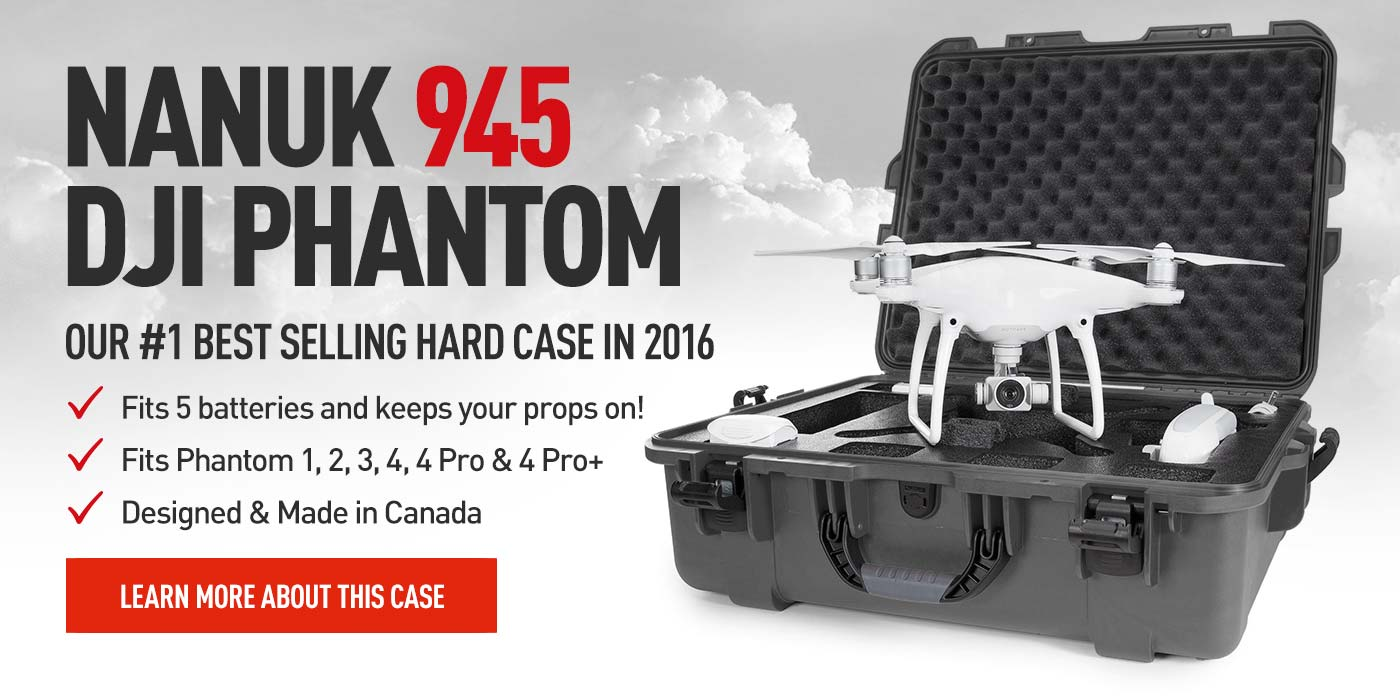 Nanuk 945 Hard Case for the DJI Phantom