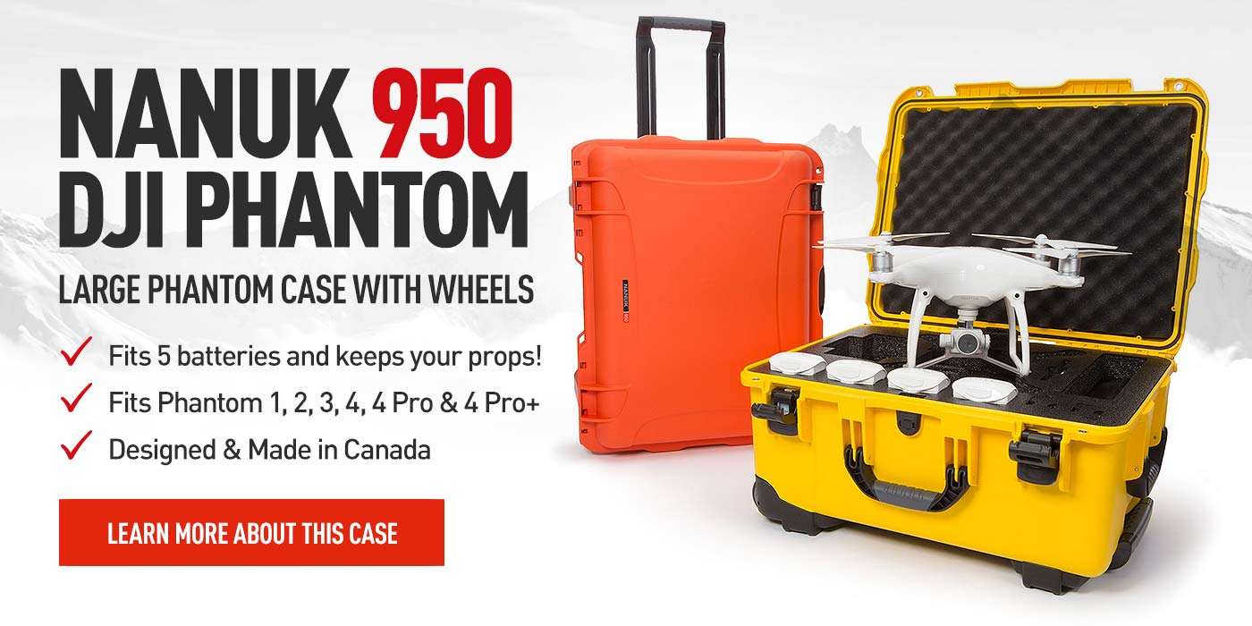 Nanuk 950 Hard Case for the DJI Phantom