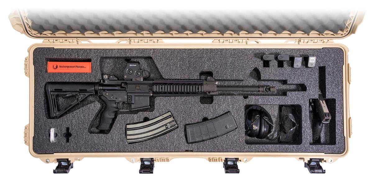 Nanuk 990 Ar Case Custom Foam Made For Large Rifles Hardcasesca