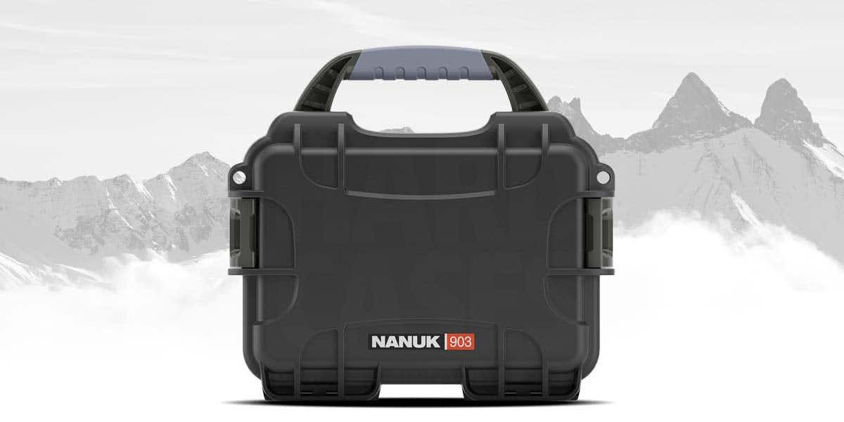 Nanuk 903 Case in Black perfect for adventures