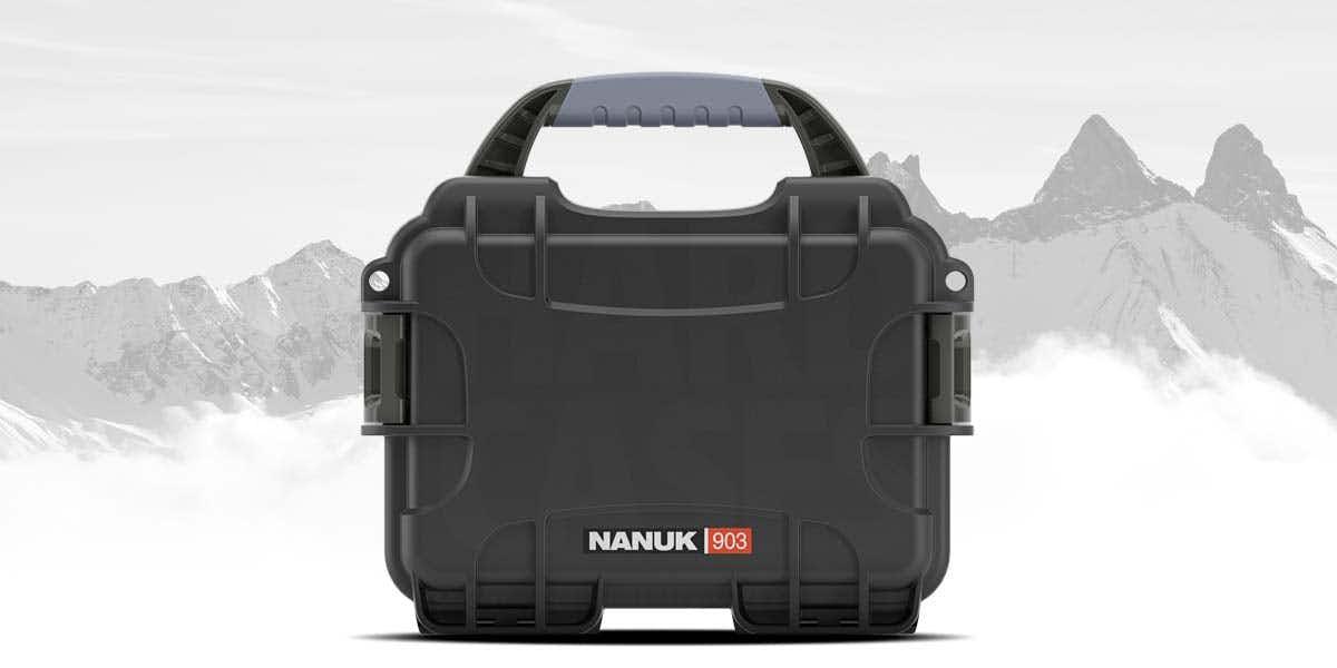 Nanuk 903 Case in Black perfect for adventures